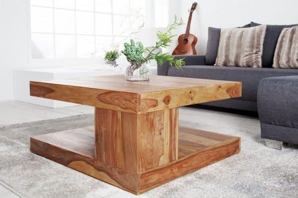 Konferenčný stolík Giant 80cm sheesham