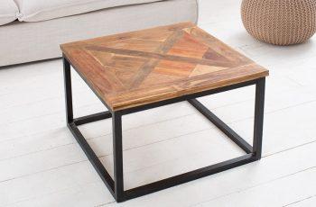 Konferenčný stolík Old Doors 60cm teakové drevo