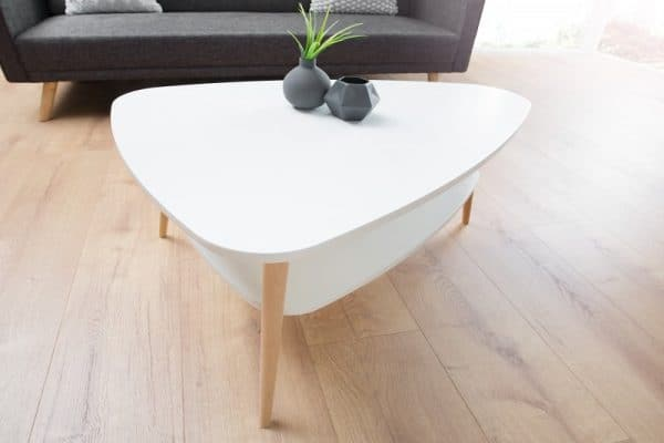 Konferenčný stolík Scandinavia biela Ablage