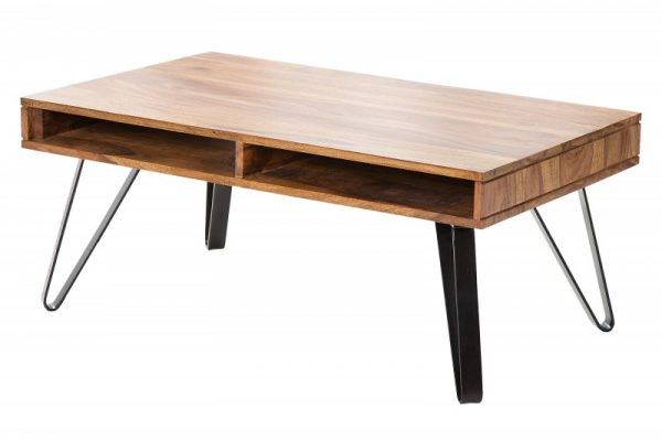 Konferenčný stolík Spider 100cm sheesham
