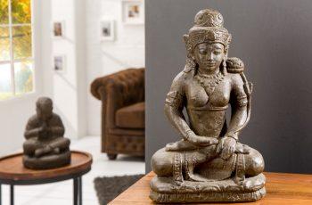 Statue Dewi Tara 50cm Naturstein