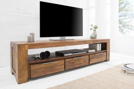 TV stolík Makassar Sheesham 47 x 170 cm
