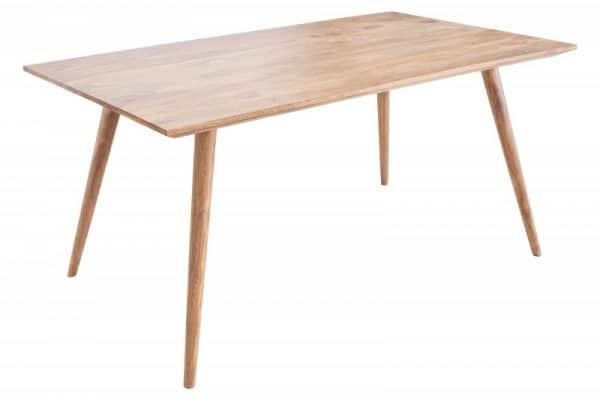 Drevený jedálenský stôl Mosaico 90 x 160 cm »