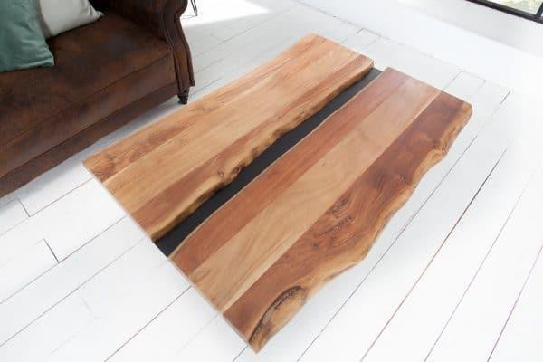 Drevený konferenčný stolík Amazonas 80 x 120 cm - 38 mm »