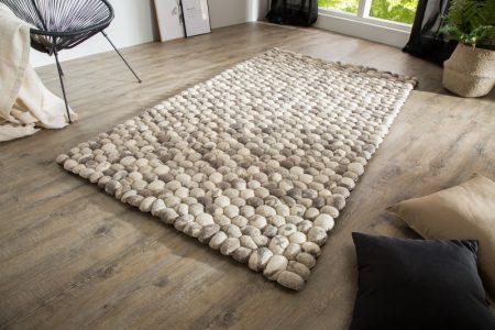 Sivý koberec Organic 200x120cm
