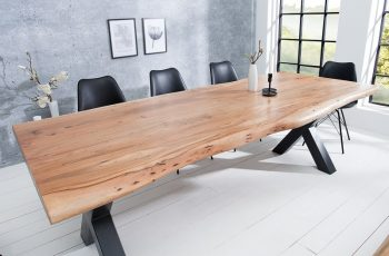 Jedálenský stôl Mammut X 200cm agát 60mm