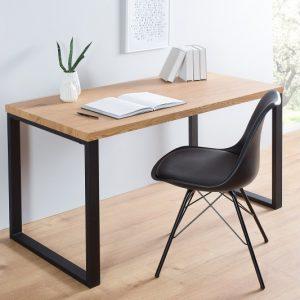Písací stôl Black Desk 128cm čierna dub
