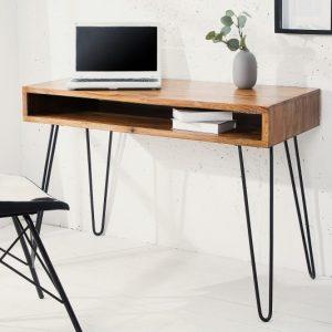 Písací stôl Mantis 110cm sheesham