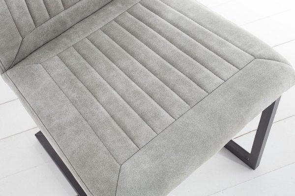 Stolička Bristol stone sivá