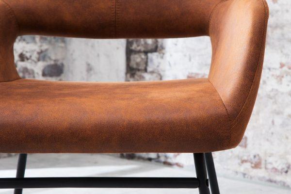 Stolička Mustang antik hnedá