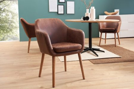 Hnedá jedálenská stolička Supreme