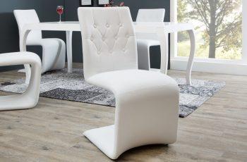 Stolička Victorian biela