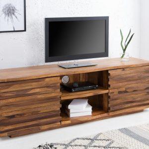 TV Board Relief 150cm sheesham