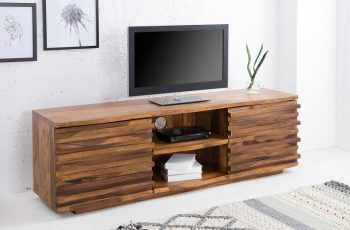 TV Board Relief 150cm sheesham