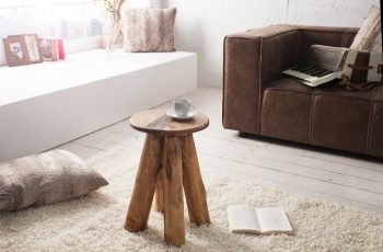 Taburet Hemingway recyklované drevo