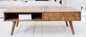 Krásne drevené konferenčné stolíky