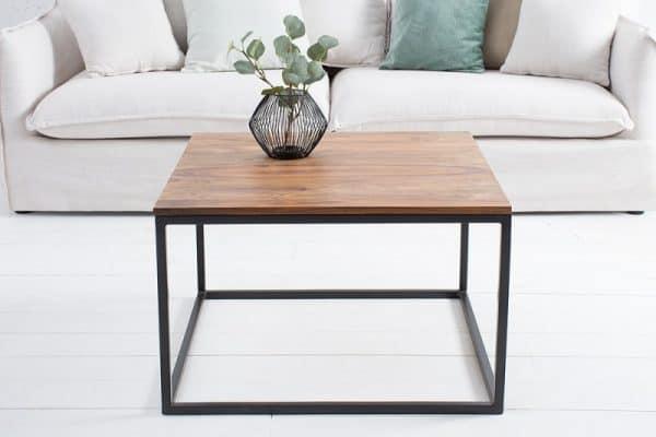 Drevený konferenčný stolík Fusion 70 x 70 cm »