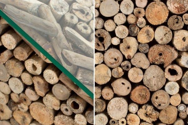 Konferenčný stolík Fossil 50cm naplavené drevo
