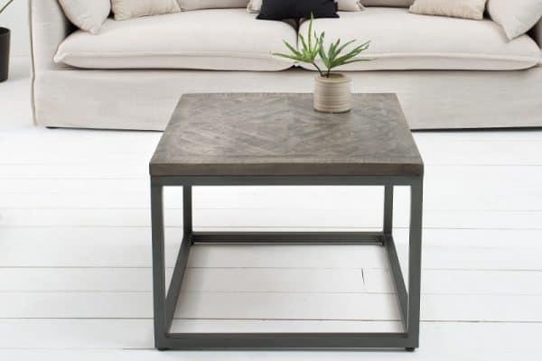Konferenčný stolík Infinity 60cm Mango sivá