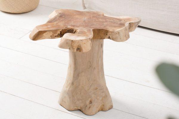 Konferenčný stolík Root 40cm teakové drevo