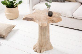 Konferenčný stolík Root 60cm teakové drevo