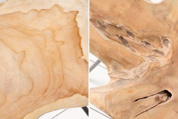 Konferenčný stolík Wild 55cm teakové drevo
