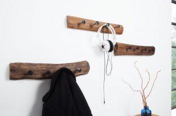 Nástenný vešiak Hemingway recyklované drevo