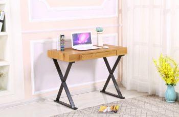 Písací stôl Grace 100cm dub čierna