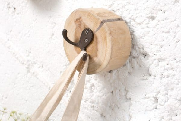 Vešiak Limotion set 3ks teakové drevo
