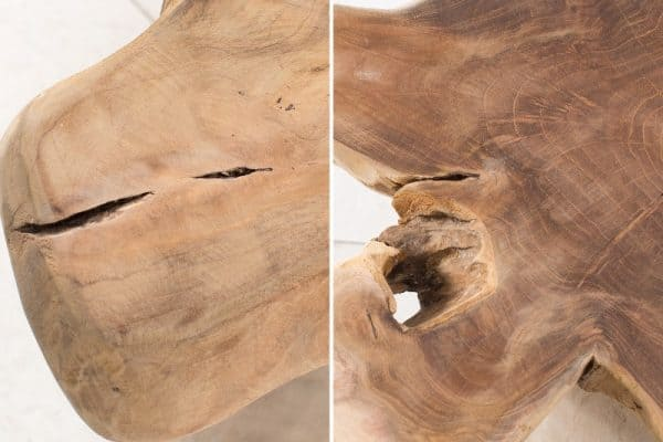 Drevený konferenčný stolík Root 44 x 53 cm »