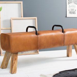 Kožená lavica Bock Kult