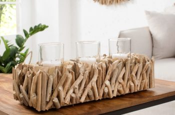 Sviečka Fossil naplavené drevo