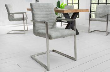 Stolička Imperial stone sivá