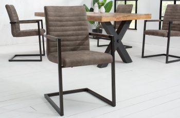 Stolička Imperial taupe sivá