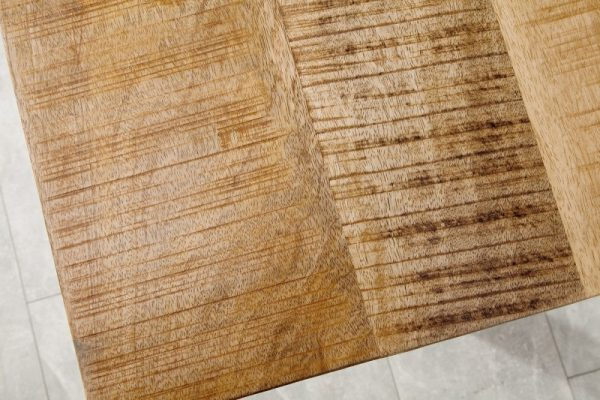Jedálenský stôl Iron Craft 180cm prírodná Mango