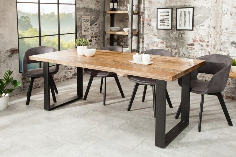 7dd08ac86d6b Drevený jedálenský stôl Iron Craft 90 x 180 cm – 45 mm » » iKuchyne ESHOP s  nábytkom
