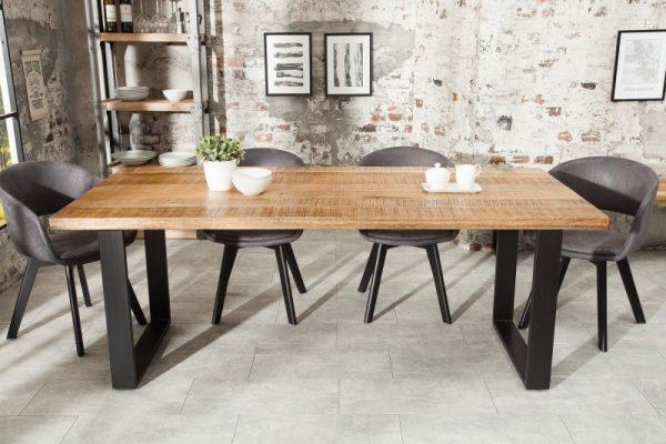 Jedálenský stôl Iron Craft 200cm prírodná Mango