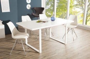 Jedálenský stôl Lucente 160cm biela Kufe