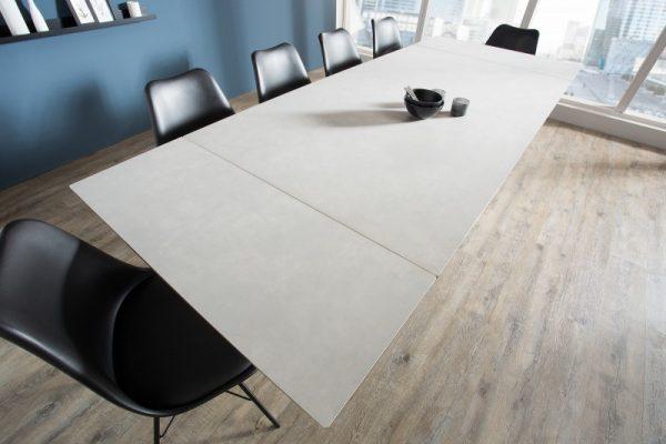 Jedálenský stôl Prometheus 180-260cm Cement