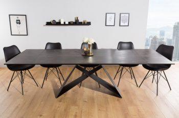 Jedálenský stôl Prometheus 180-260cm lava