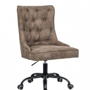 Kancelárska stolička Victorian Armlehne hellhnedá