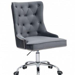 Kancelárska stolička Victorian Armlehne striebornošedá