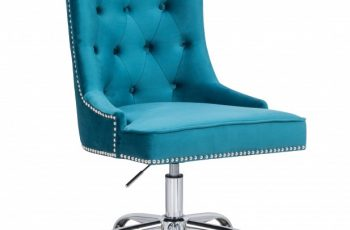 Kancelárska stolička Victorian Armlehne tyrkysová