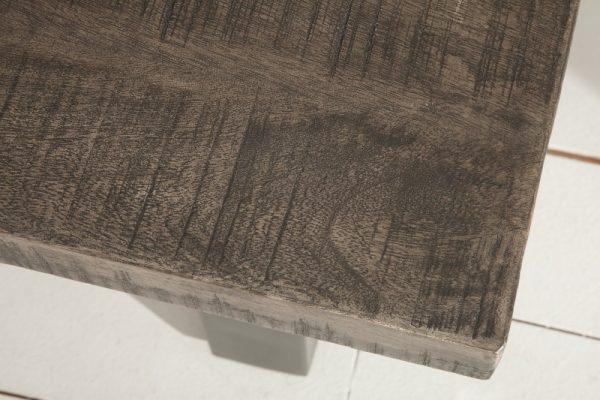 Konferenčný stolík Iron Craft 100cm sivá Mango