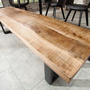 Lavica Iron Craft 170cm prírodná Mango