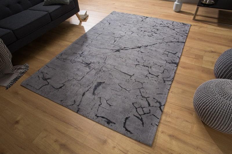 Teppich Fragments 240x160cm sivá