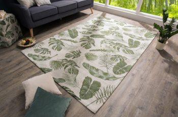 Teppich Tropical 240x160cm zelená