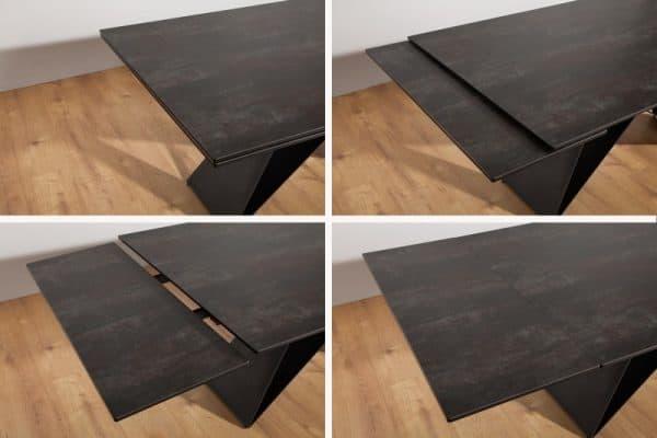 Jedálenský stôl Prometheus 180-260cm Láva