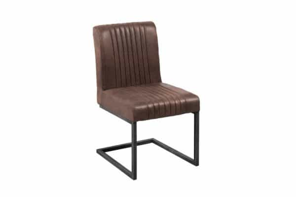 Tmavohnedá jedálenská stolička Big Aston »