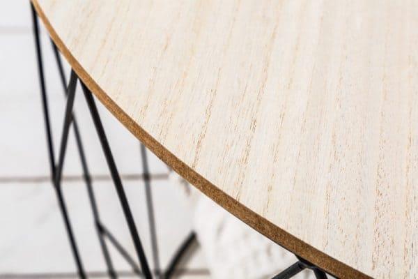 B-Konferenčný stolík Storage 52cm čierna